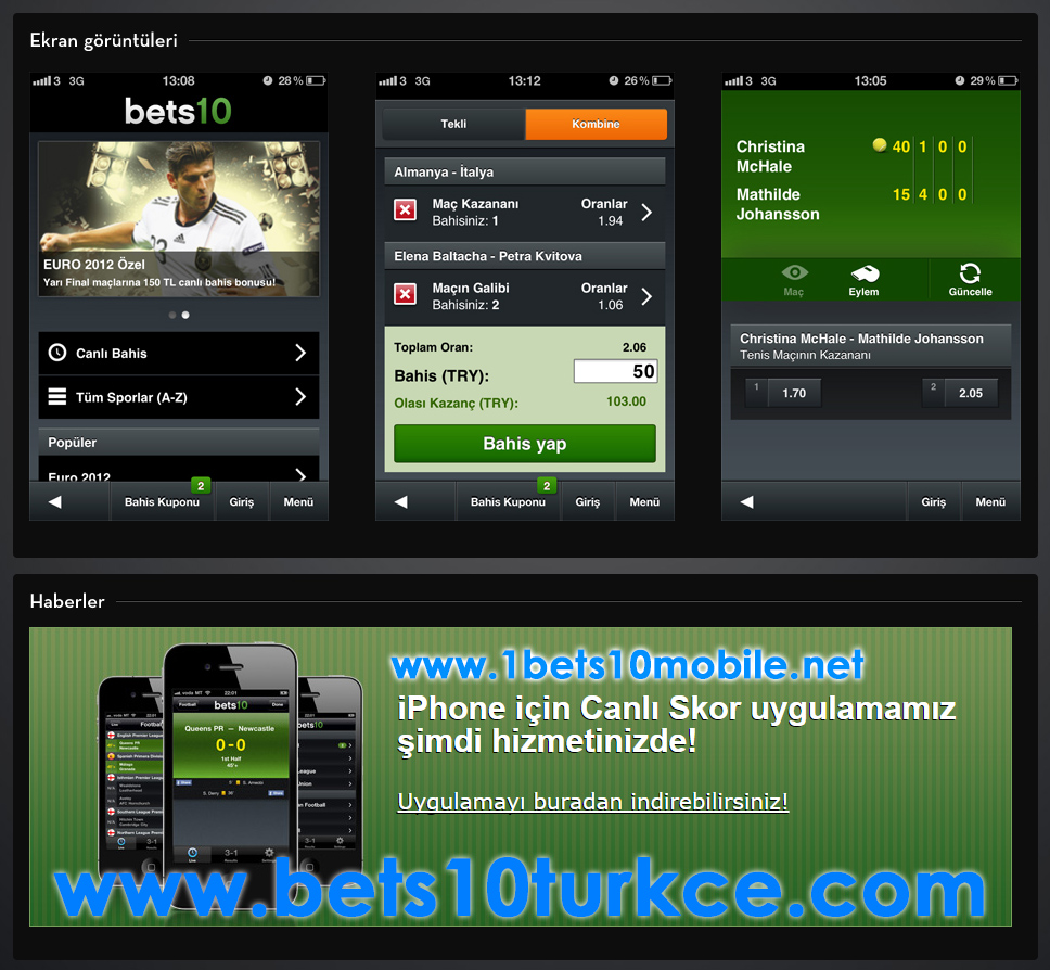 Bets10 mobil yeni adres www.1bets10mobile.com