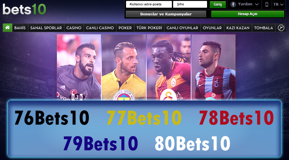 76Bets10 & 77Bets10 & 78Bets10 & 79Bets10 & 80Bets10