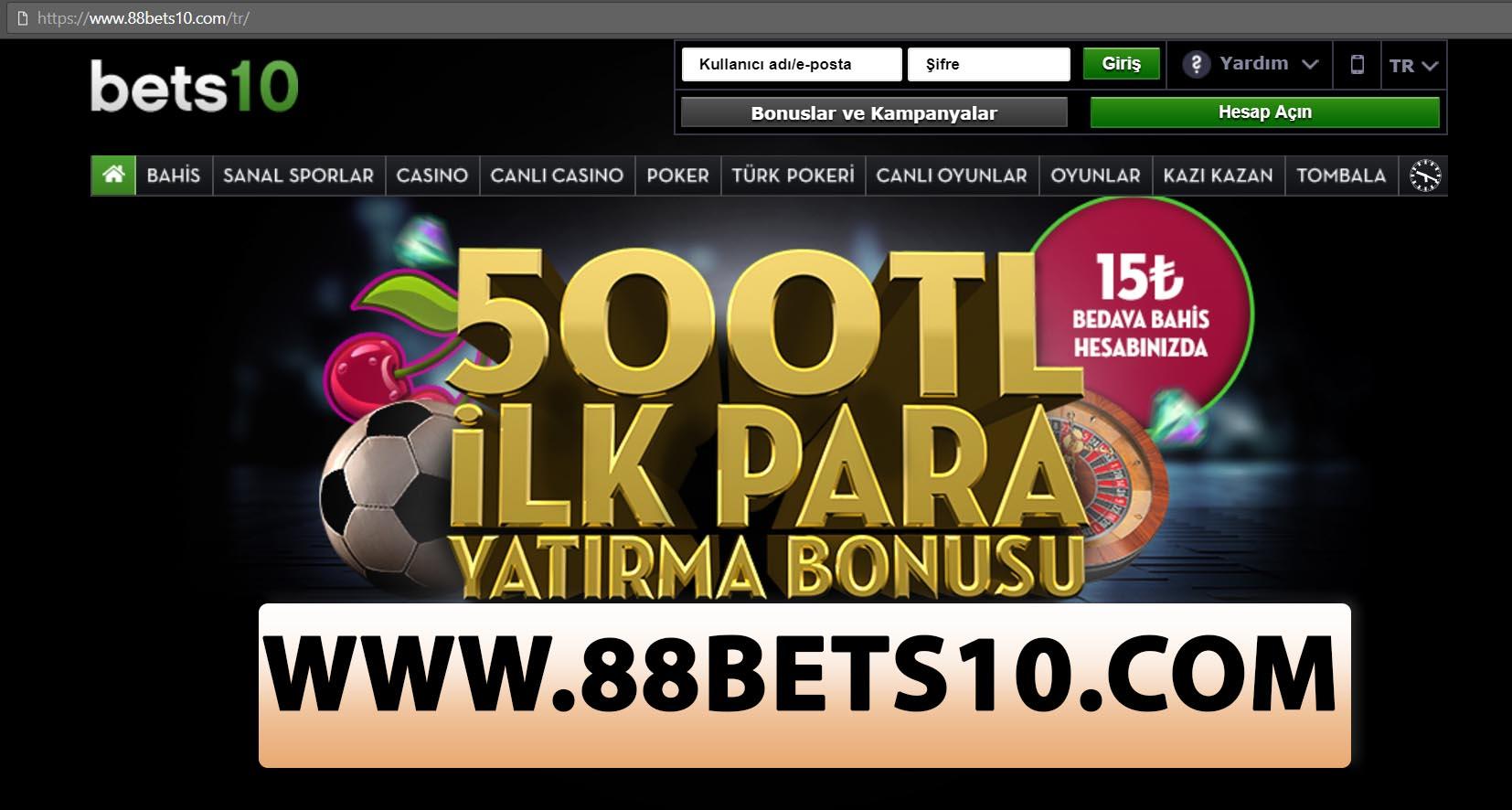 88Bets10.com En Güncel Adres Oldu