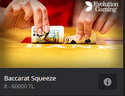 Baccarat Squueeze