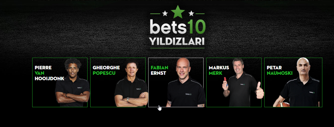 Bets10 Yıldızları