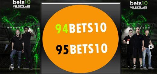 94Bets10 ve 95Bets10.com Adresleri