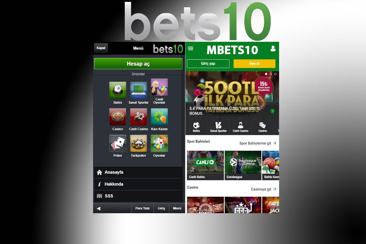 Bets10 Mobil Artık Daha Kullanışlı