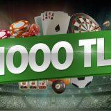 Bets10 da 1000 TL Yüzde Yüz Para Yatırma Bonusu